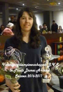 008 Melissa Sorber 3e plaats A klasse Dames P1050649