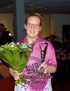 VK 2018 Dames A Klasse 3e Plaats