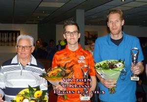 VK 2018 Heren C Klasse 1,2,3