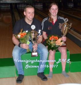 001  Fabiana Peters - Jeroen vd Heide Verenigings Kampioenen BVS   -2 P1060610