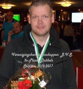 022 Jordy Sluiter - vd Berg 2e plaats dubbel  P1060580