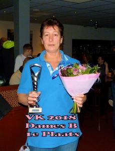 VK 2018 Dames B Klasse 1e Plaats