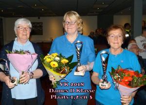 Vk 2018 Dames D Klasse 1,2,3