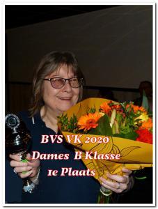 05 BVS VK 2020 1e pl dames B kl