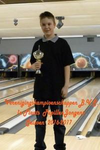 106 Jesse v Vliet 1e plaats Pupillen Jongens  P1060561